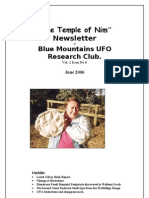 The Temple of Nim Newsletter - June 2006
