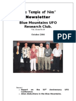 The Temple of Nim Newsletter - October 2006
