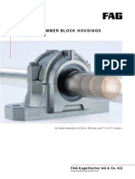 FAG SPLIT PLUMMER BLOCK HOUSINGS OF SERIES SNV