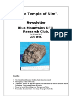 The Temple of Nim Newsletter - July 2005