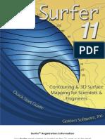 Surfer 11 Guide