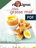 Recettes Grasse Mat