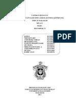 laporan lengkap lapangan