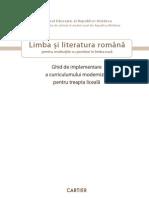 Limba Literatura Ro Ru