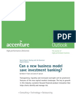 [Accenture] Can a New Business Model Save Investment Banking