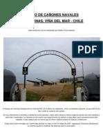MUSEO DE CAÑONES NAVALES, VIÑA DEL MAR - CHILE