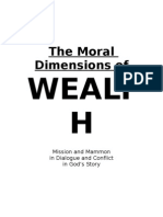The Moral Dimensions of Wealth