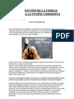 Destruccion de La Familia Rumbo a La Utopia Comunista