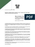 RECOMENDAÇÃO REFERENTE DIARIAS OPERACIONAIS