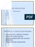 Process Simulations Introduction - 1