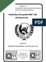 Guideline Penyakit THT-KL Di Indonesia Online Version