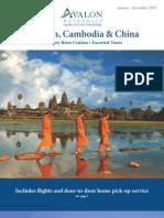 Avalon Cruises Vietnam, Cambodia & China 2013