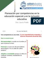 ConfSesion2 Planeacion y Evaluacion Porcompetencias Educ Especial