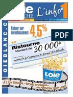 Journal L'Oie Blanche du 31 octobre 2012