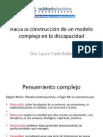 Modelo complejo dicapacidad Conferencia