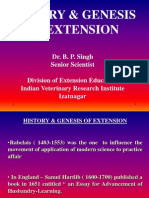 History of Extension Education Part