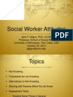 Social Worker Attitudes for Effective Practice