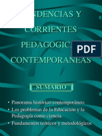 Tendencias Pedagogicas Maria Elena Sanchez Toledo