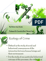 Ecology of Crime (Final)