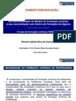 Silvério Conceição - PPT para defesa de Tese de Doutoramento