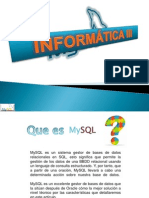 Mysql Versiones Final