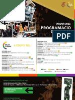 Programación Cultural Alzira - Otoño 2012