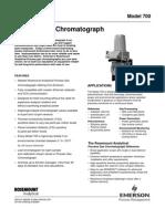 Process Gas Chromatograph _ Model 700 PDS