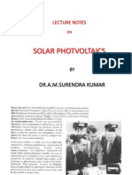 Photo Voltaic Cell
