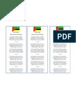 Hino de Moçambique IMPRIMIR