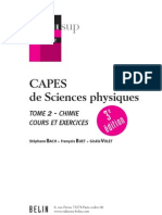 CAPES CHIMIE
