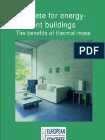 Concrete for Energy Efficient Buildings