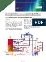 Turbine Bypass Valves
