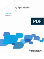 BlackBerry App World Storefront-Use