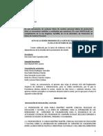 ACTA DE LA SESIÓN ORDINARIA DE LA JUNTA DE GOBIERNO AYUNTAMIENTO DE GETAFE