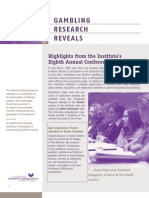 Gambling Research Reveals - Issue 4, Volume 8 - April / May 2009