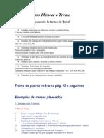 Planeamento de Treino de Futsal