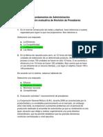 Act.1 Lección evaluativa de Revisión de Presaberes - Fundamentos de Administración