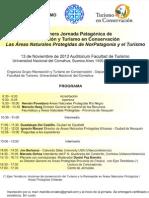 Primera Jornada Patagónica de Recreacion y Turismo en Conservación