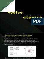 El NUClEO ATÓMiCO
