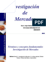 Investigacionmercados Econ Jorge Cadena Mba PARA EL ALUMNO