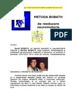 Metoda Bobath de Reeducare Neuromotorie