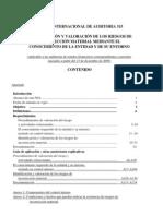 NORMA INTERNACIONAL DE AUDITORÍA 315