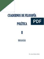 Benítez Rubio, Fco. Javier - Cuadernos de Filosofía Política II - Ideología