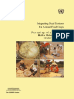 Integrating Seed Systems for Annual Food Crops Proceedings of a Workshop Held in Malang, Indonesia October 24-27, 1995- The CGPRT Centre.(a Reference to Ankapur Village)