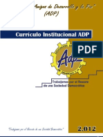 Currículo Institucional ADP