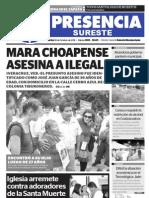 Diario presencia de Las Choapas