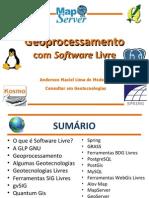 Geoprocessamento Com Software Livre