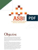 ASB2012 Presentation