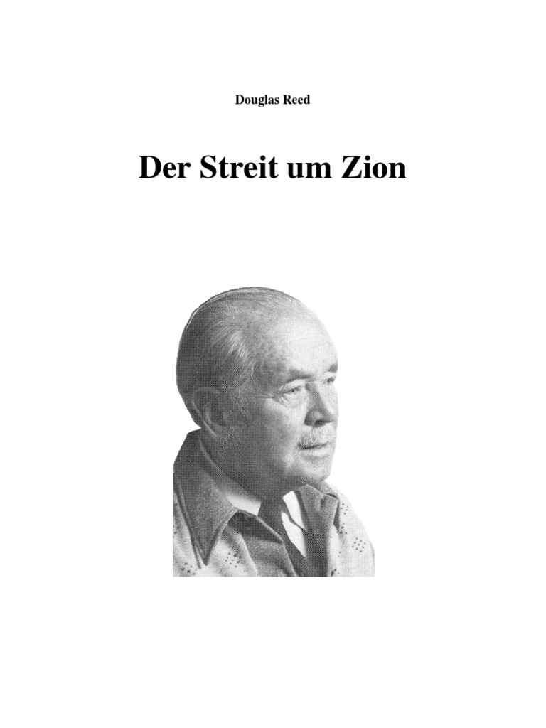 Reed, Douglas - Der Streit Um Zion (590 S., Text)