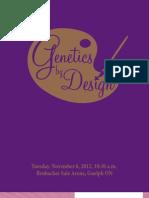 Sale Catalog - Genetics by Design Sale